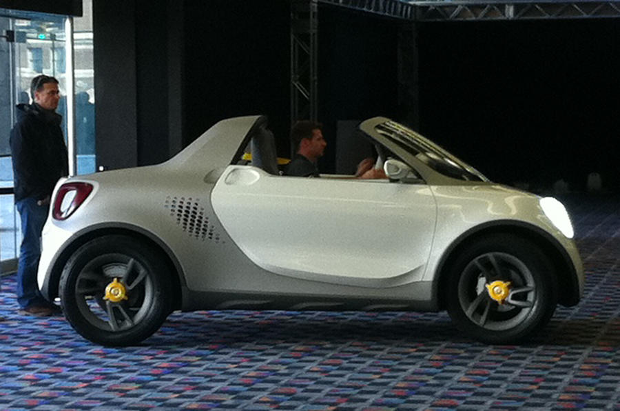 Detroit show: Smart For-us concept