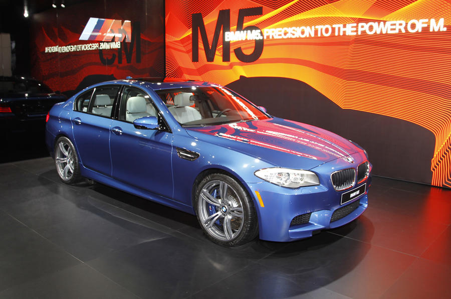 Detroit show: BMW M5 update