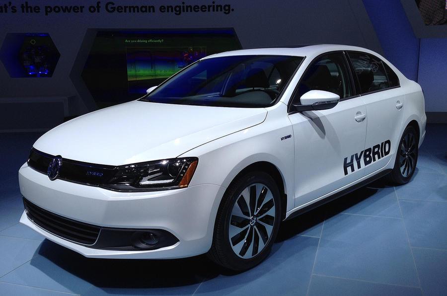 Detroit show: VW Jetta Hybrid
