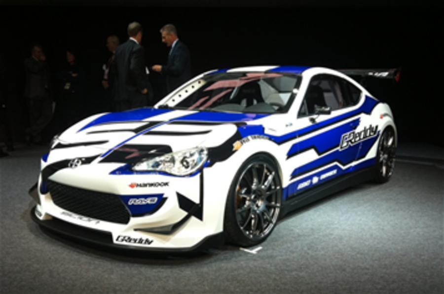 Detroit motor show: Scion FR-S