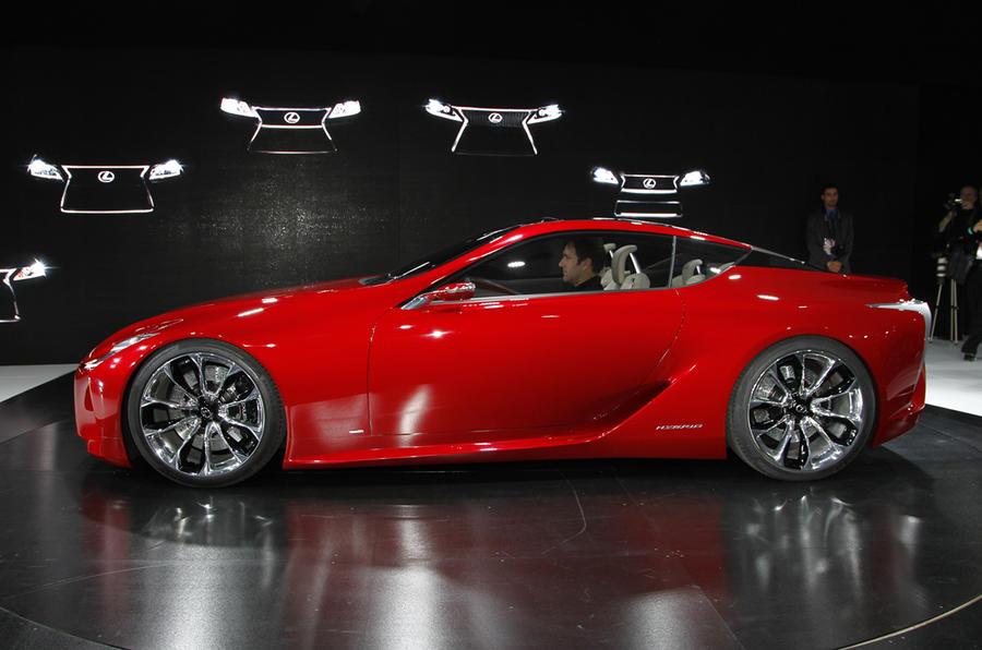 Detroit motor show: Lexus LF-LC