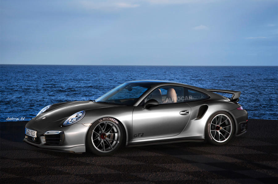Porsche 911 GT2 Turbo - latest spy shots