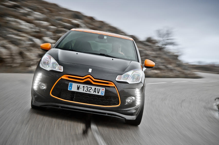 Citroën DS3 Racing front end