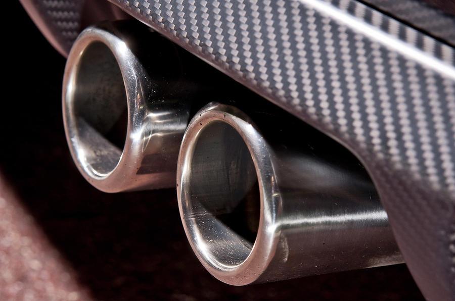 Citroën DS3 Racing twin exhaust