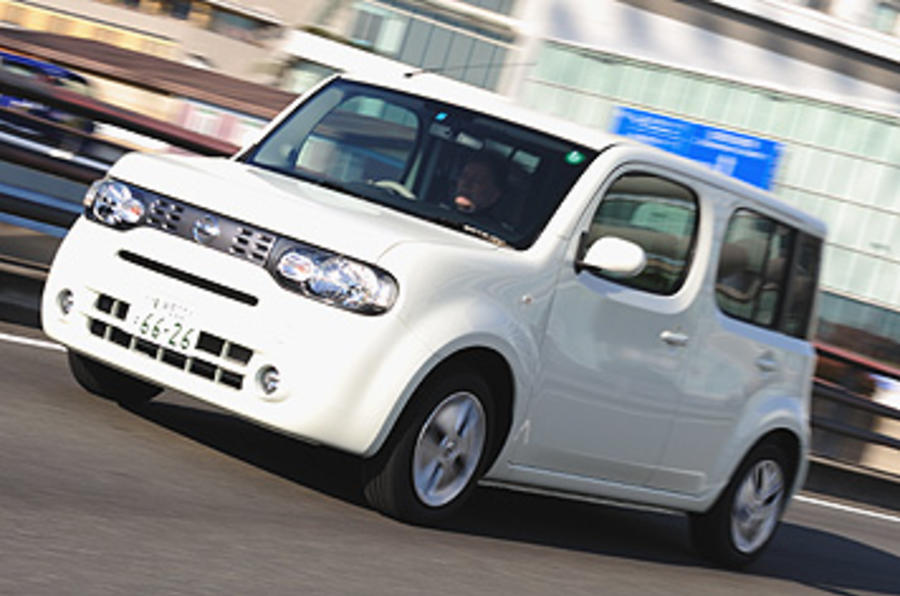 nissan cube review autocar. Black Bedroom Furniture Sets. Home Design Ideas