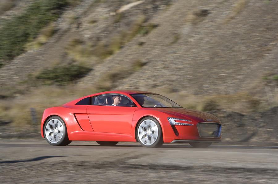 150 mile range Audi e-tron