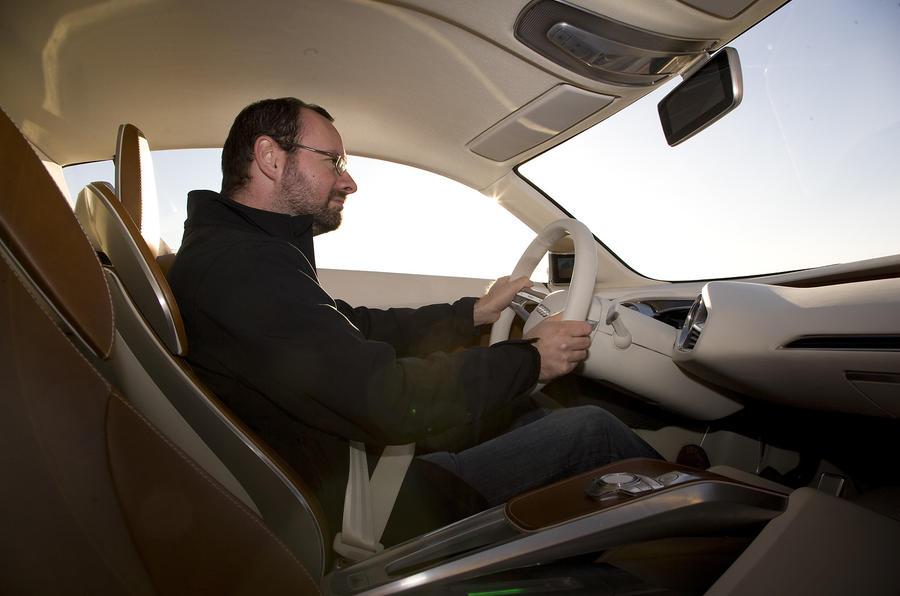 Driving the Audi e-tron
