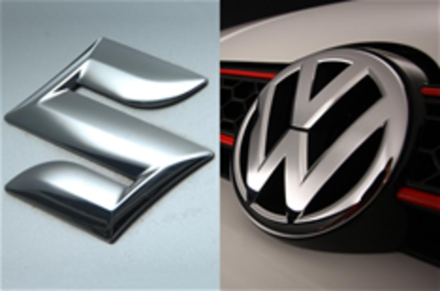 VW takes stake in Suzuki