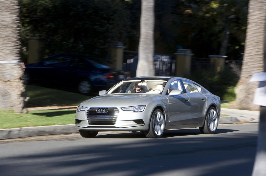 Audi Sportback on the road