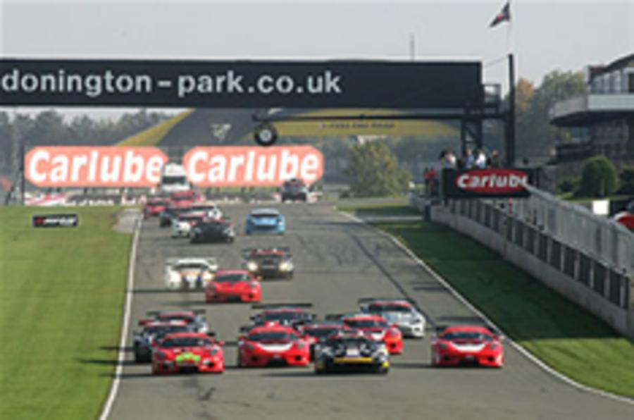 Donington upgrades approved