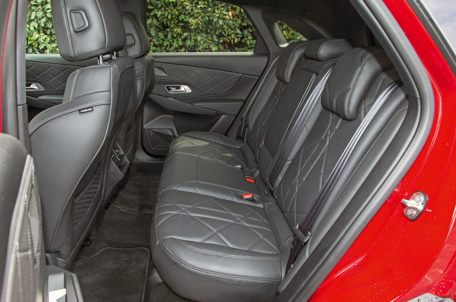 DS 7 Crossback 2018 road test review rear seats