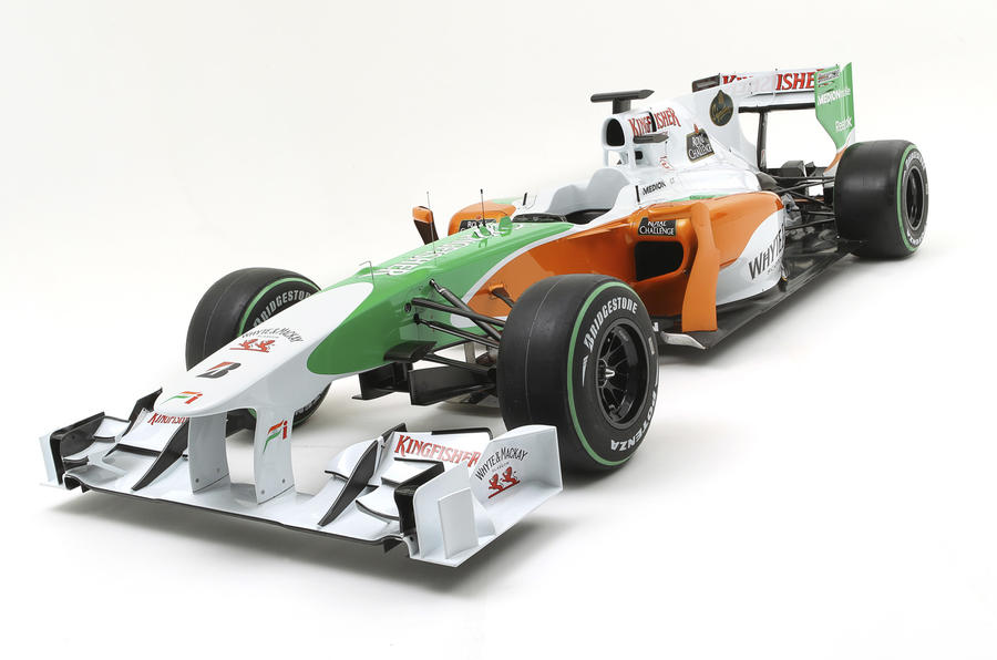 Force India reveals new F1 car