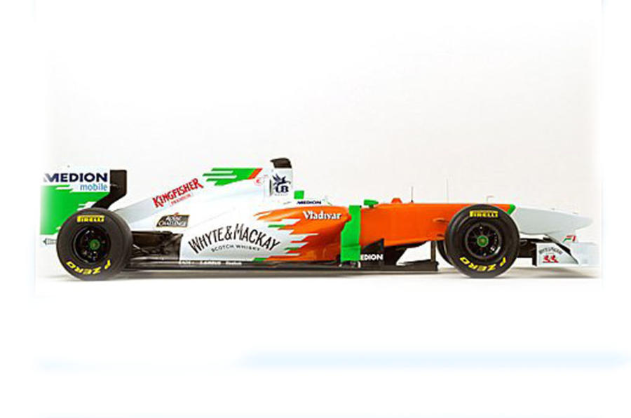 Force India launches new F1 car