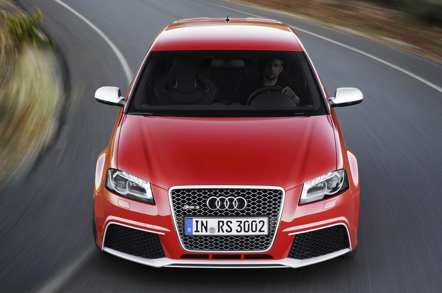 Audi RS3 Sportback front end