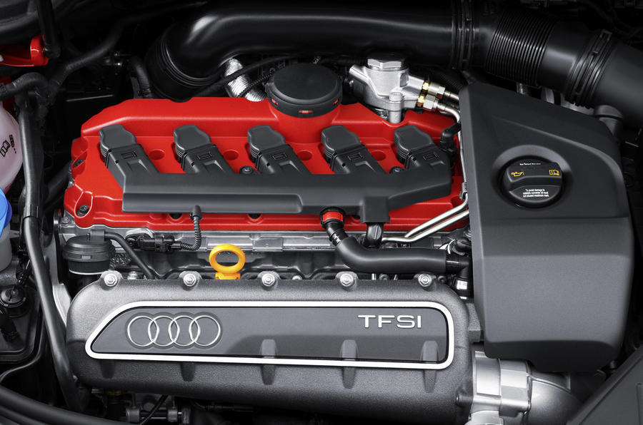 2.5-litre Audi RS3 Sportback engine