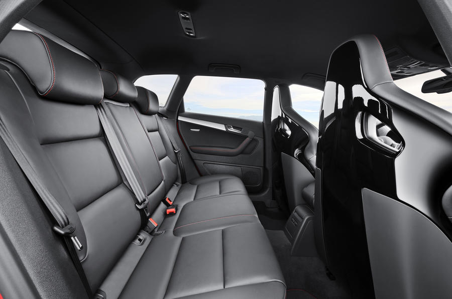 Audi RS3 Sportback rear space