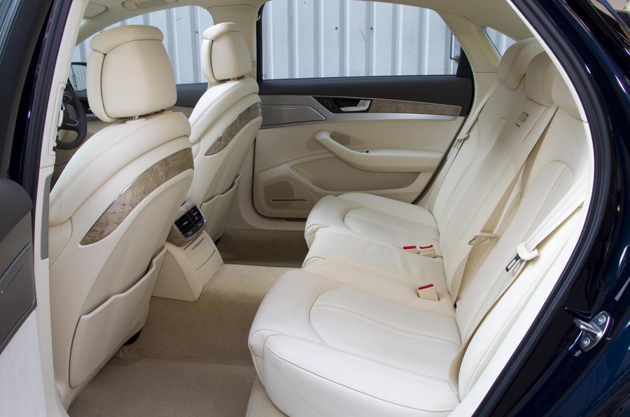 Audi A8 L rear seats