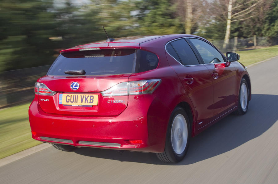 Lexus CT 200h SE-L rear