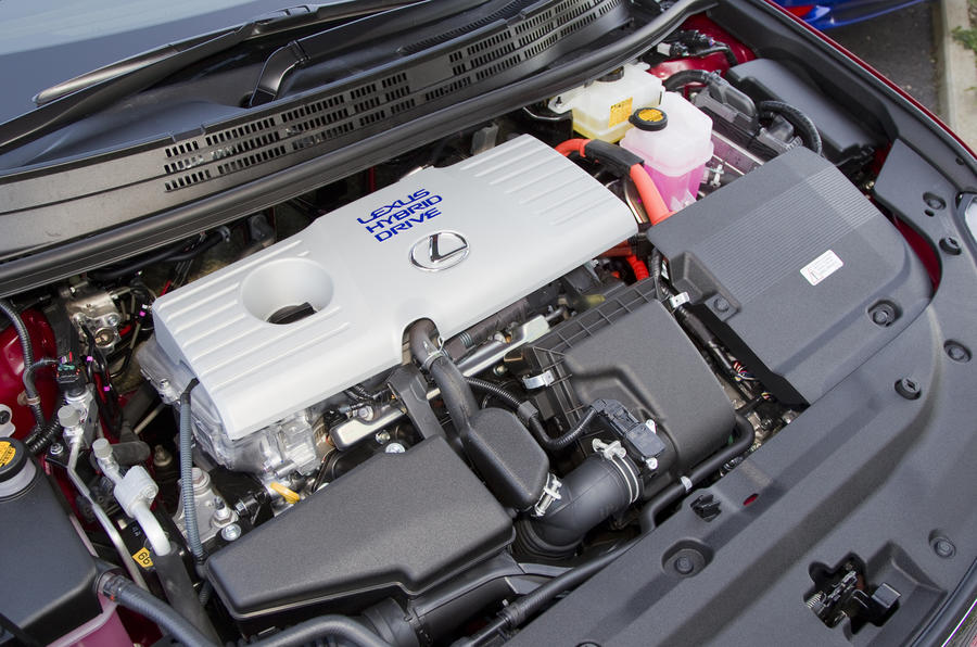1.8-litre Lexus CT petrol engine