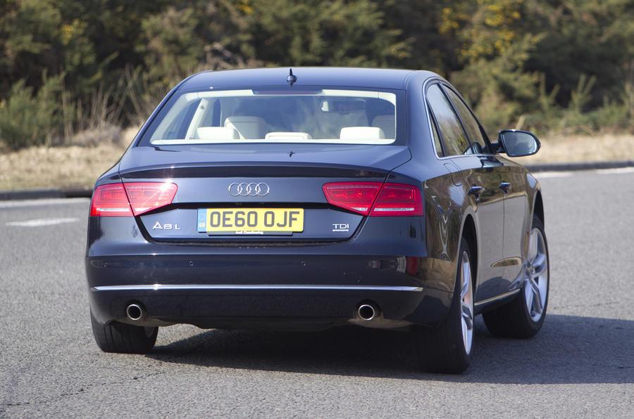 Audi A8 L rear