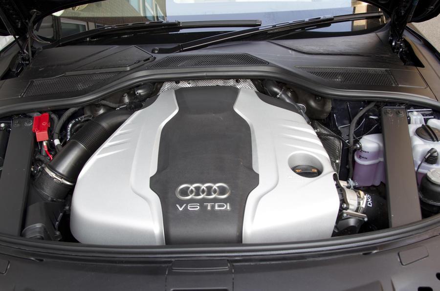3.0-litre Audi A8 diesel engine