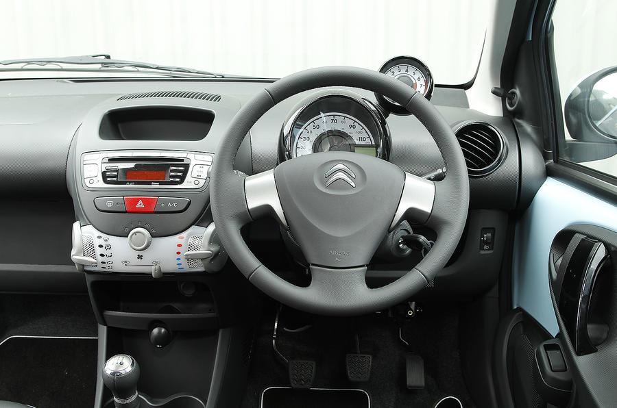 Citroën C1 dashboard