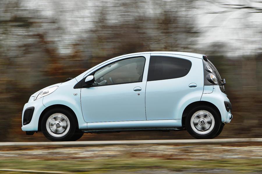 Citroën C1 side profile