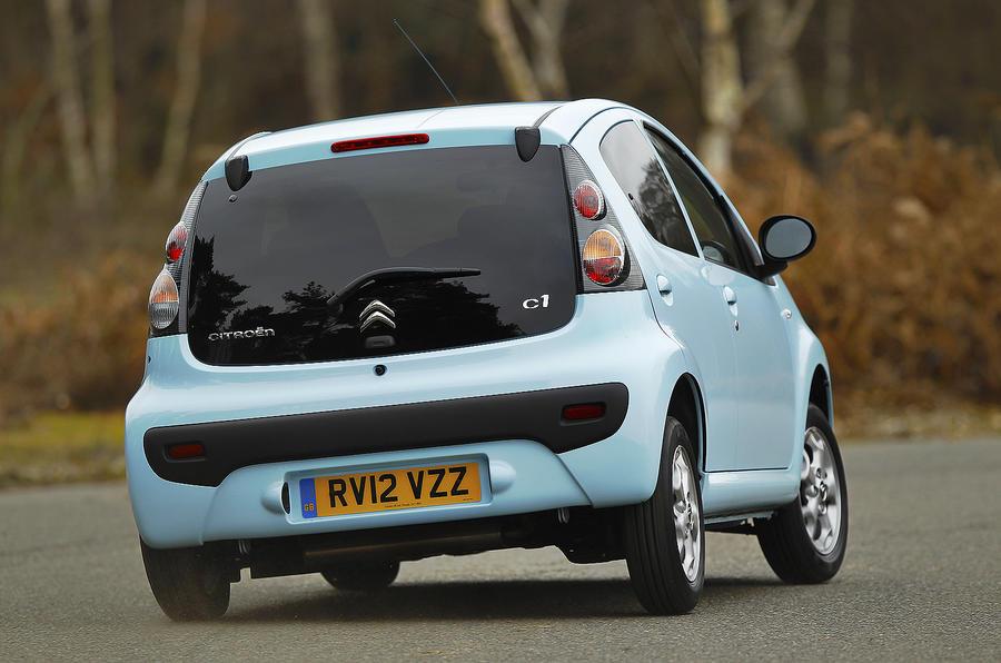 Citroën C1 rear