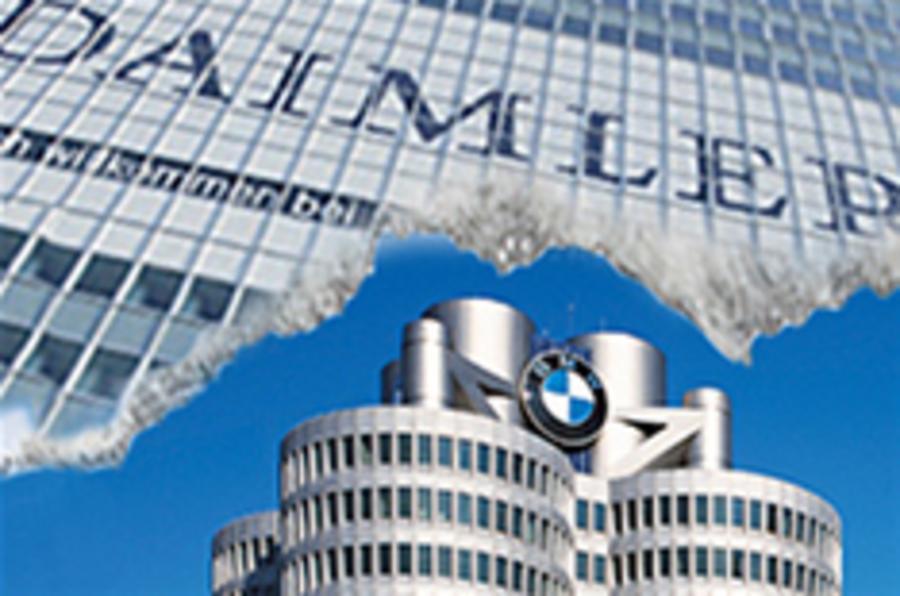 Mercedes, BMW plan closer ties