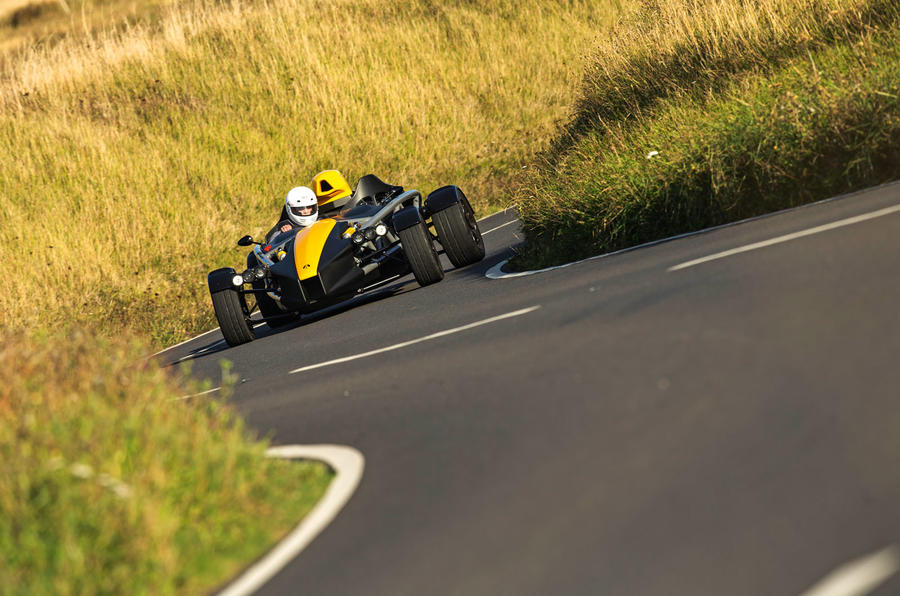Ariel Atom 4 2019 road test review - chicane front