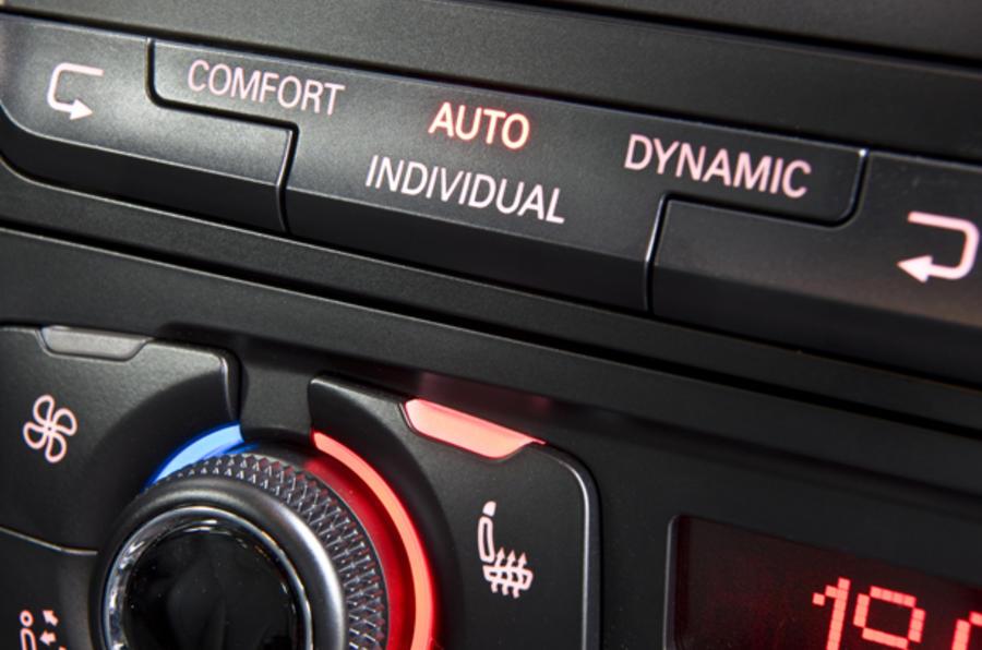 Audi RS5 dynamic control