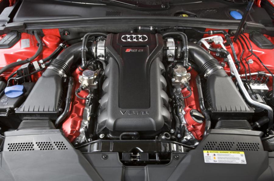 4.2-litre V8 Audi RS5 engine