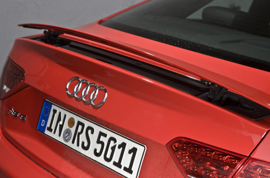 Audi RS5 rear wing