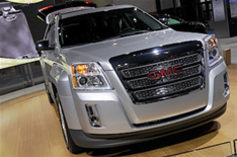 Bold styling for GMC Terrain