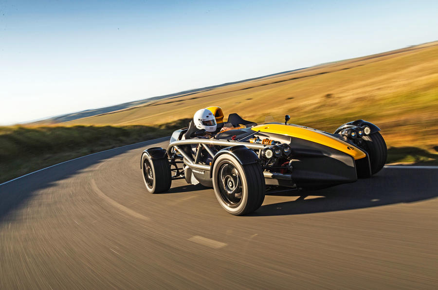 Ariel Atom 4 2019 road test review - on the road front