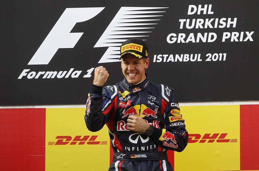 Vettel wins in Istanbul - pics
