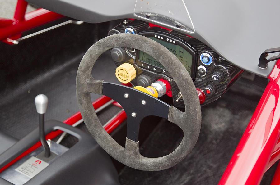 Ariel Atom 3 Mugen steering wheel