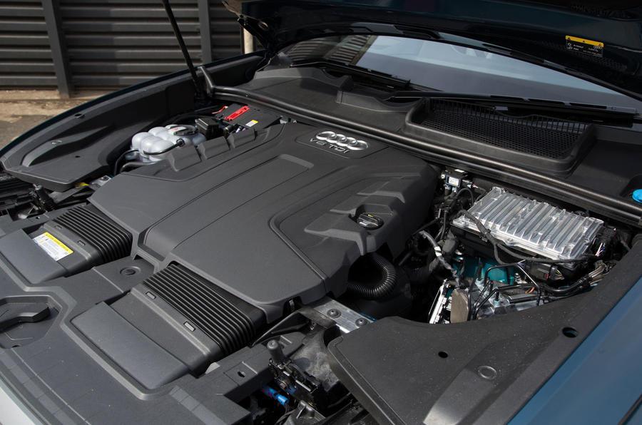 Audi Q8 50 TDI Quattro S Line 2018 road test review - engine