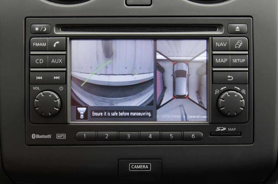 Nissan Qashqai 360deg reversing camera