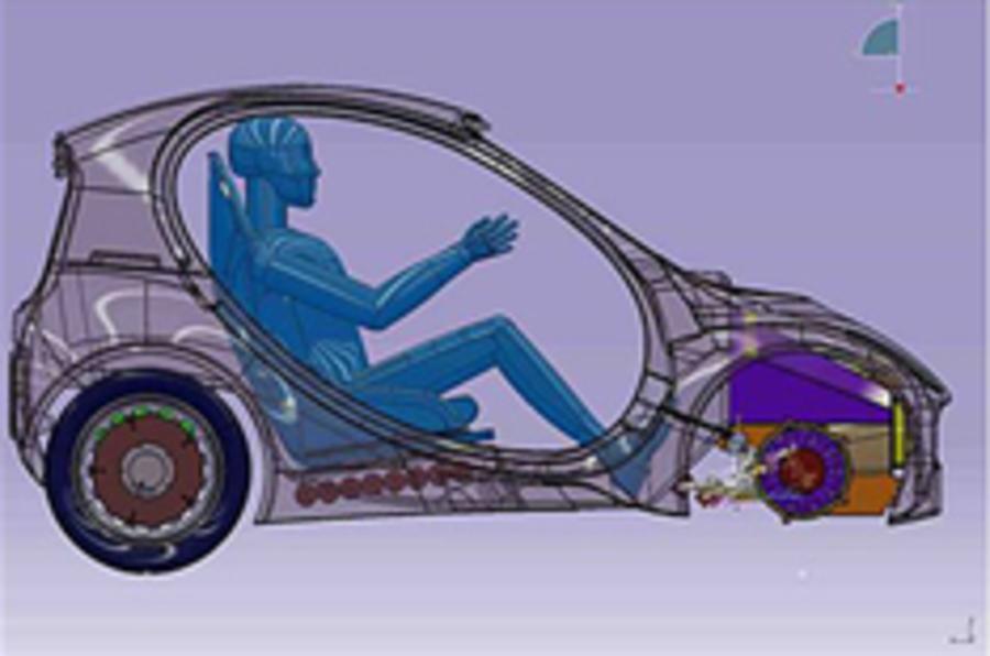 Radical UK hydrogen car revealed