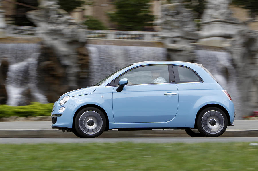 Fiat 500 TwinAir side profile