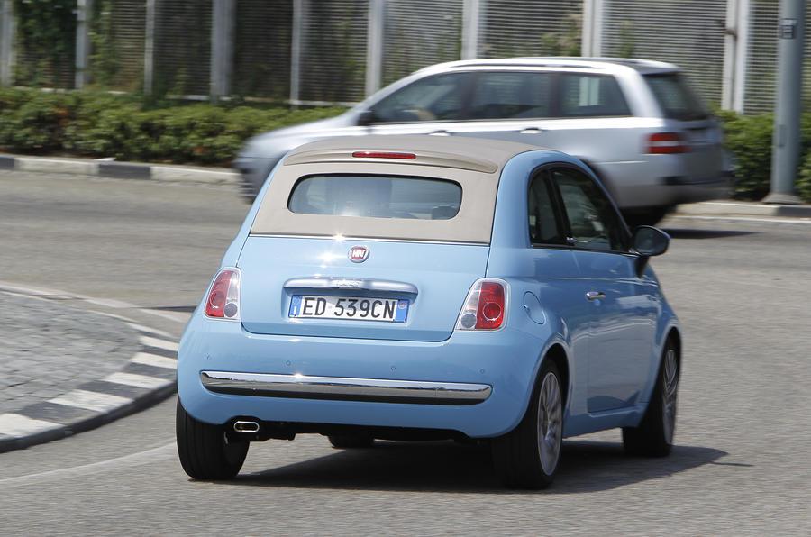 Fiat 500 TwinAir rear