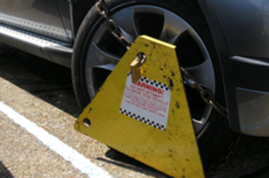 ASBOs for wheel clampers
