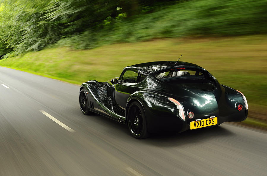 Morgan Aero Supersports rear quarter
