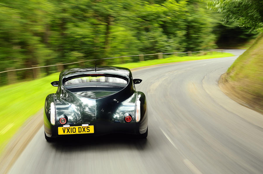 Morgan Aero Supersports rear cornering