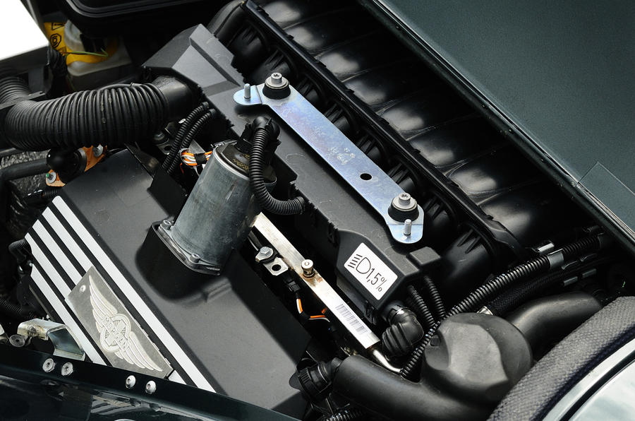 4.8-litre V8 Morgan Aero Supersports engine