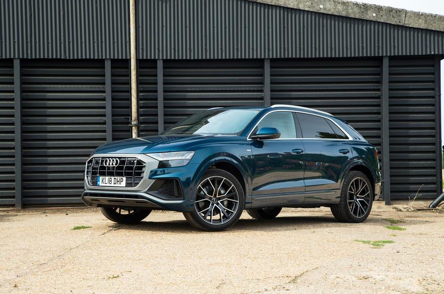 Audi Q8 50 TDI Quattro S Line 2018 road test review - static hero