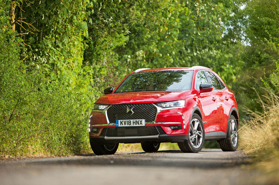 DS 7 Crossback 2018 road test review static hero