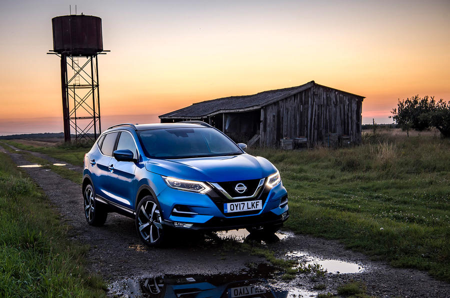 Nissan Qashqai road test review hero static