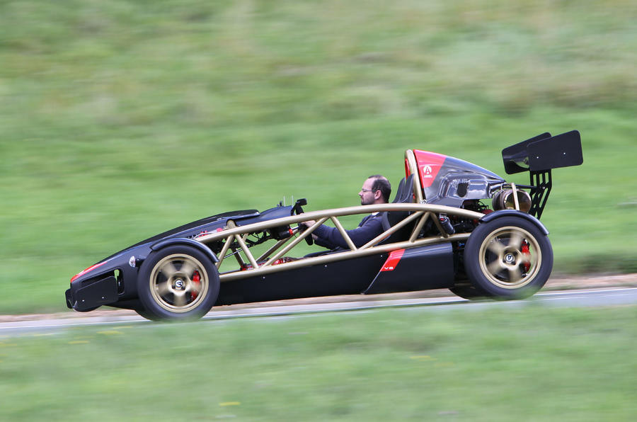 Ariel Atom V8 side profile